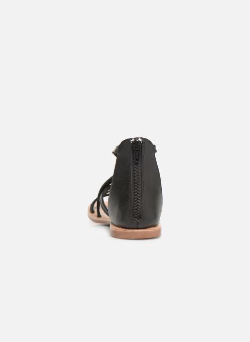 Sandales et nu-pieds I Love Shoes KEVESTAL Leather Noir vue droite