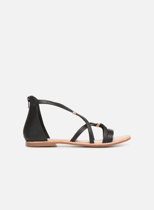 Sandals I Love Shoes KEVESTAL Leather Black back view