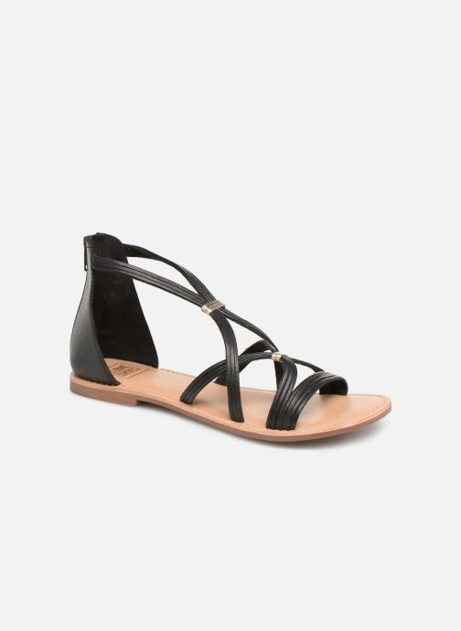 Sandals I Love Shoes KEVESTAL Leather Black detailed view/ Pair view