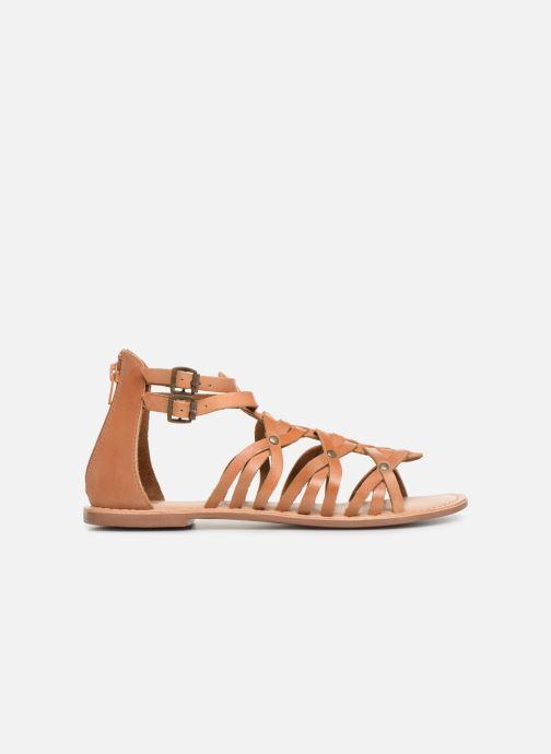 Sandali e scarpe aperte I Love Shoes KEMARY Leather Marrone immagine posteriore