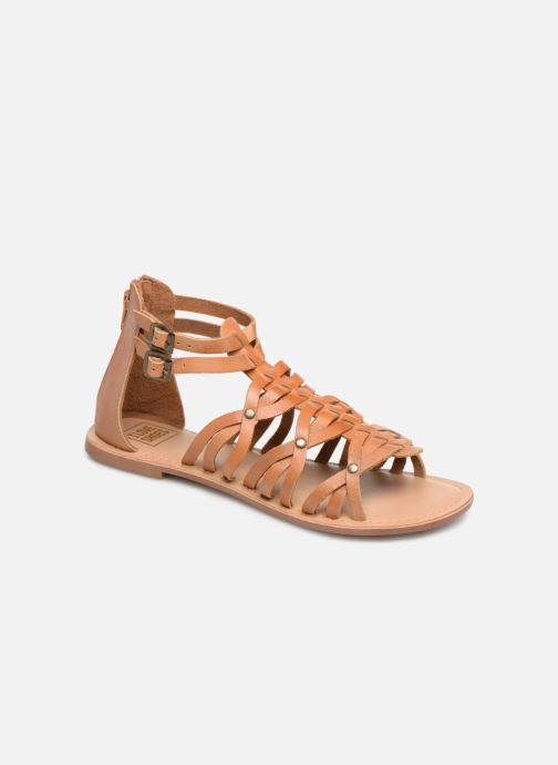 Sandales et nu-pieds I Love Shoes KEMARY Leather Marron vue détail/paire