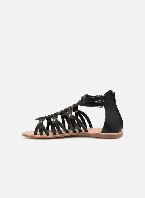 Sandales et nu-pieds I Love Shoes KEMARY Leather Noir vue face