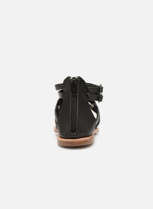 Sandales et nu-pieds I Love Shoes KEMARY Leather Noir vue droite