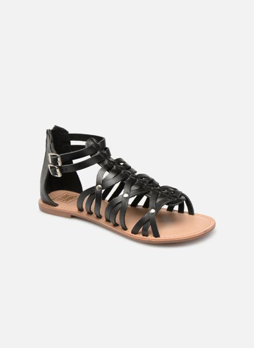 Sandales et nu-pieds I Love Shoes KEMARY Leather Noir vue détail/paire