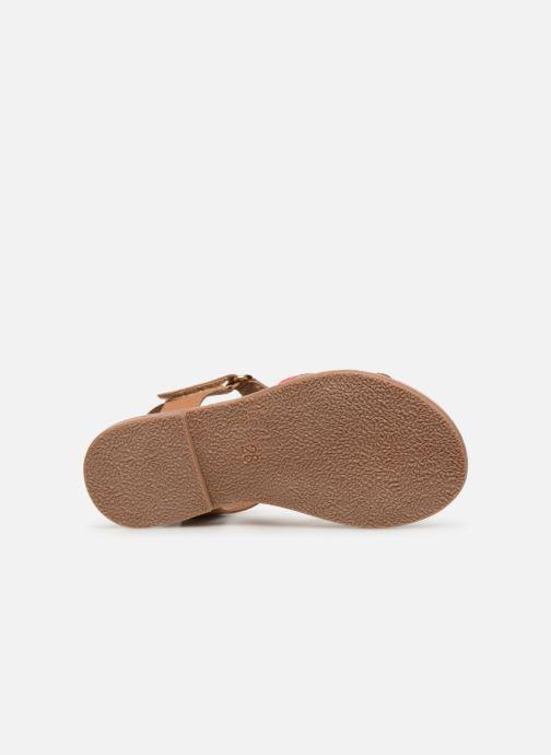 Sandalias I Love Shoes Kefresia Leather Marrón vista de arriba