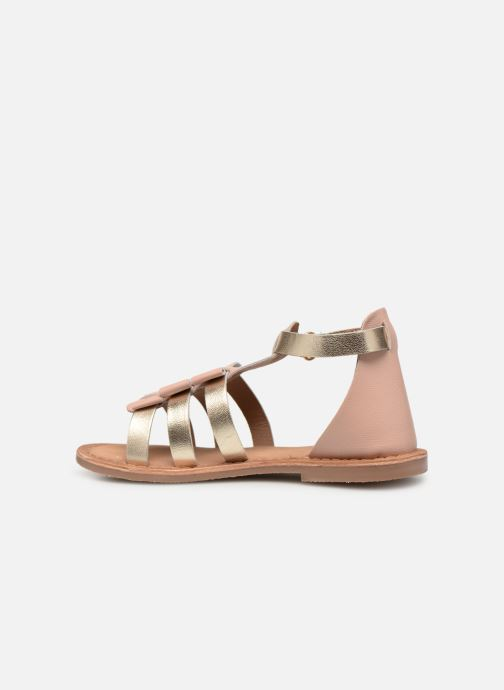 Sandals I Love Shoes Kejoli Leather Pink front view