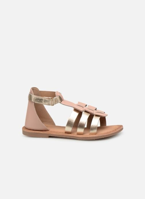 Sandals I Love Shoes Kejoli Leather Pink back view