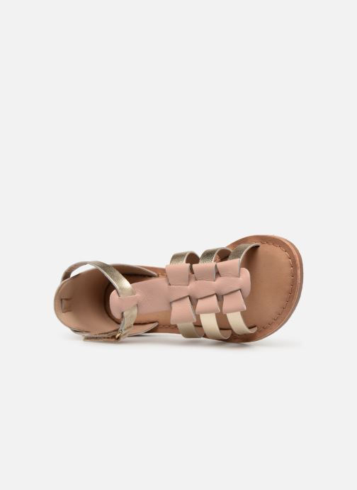 Sandals I Love Shoes Kejoli Leather Pink view from the left