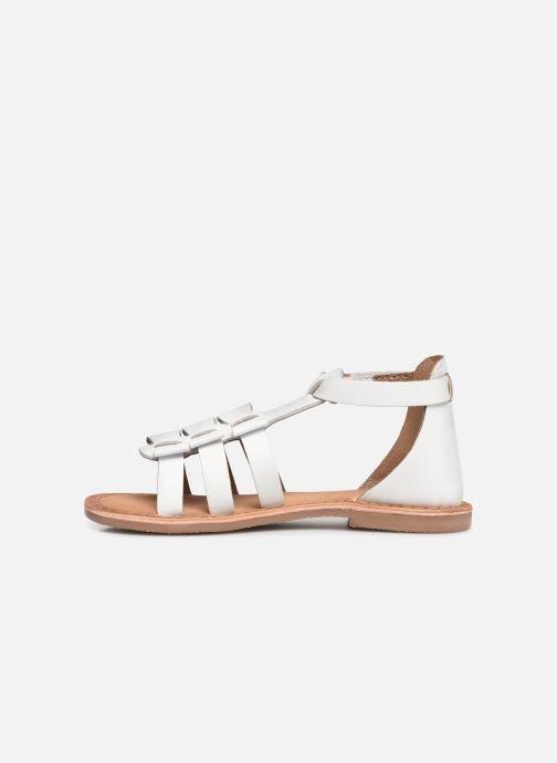 Sandales et nu-pieds I Love Shoes Kejoli Leather Blanc vue face