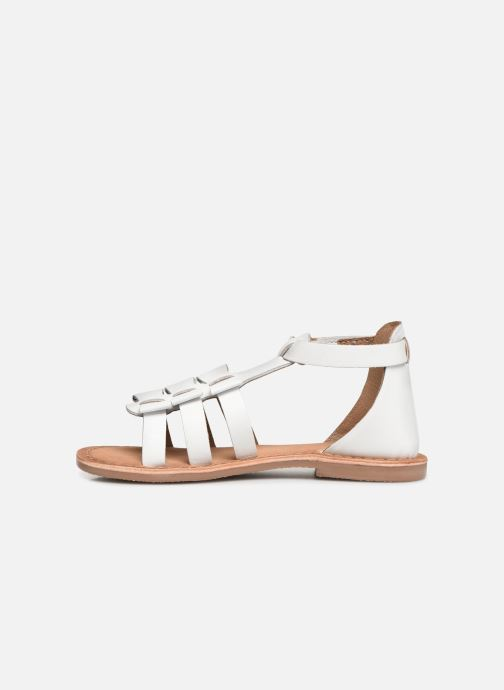 Sandals I Love Shoes Kejoli Leather White front view