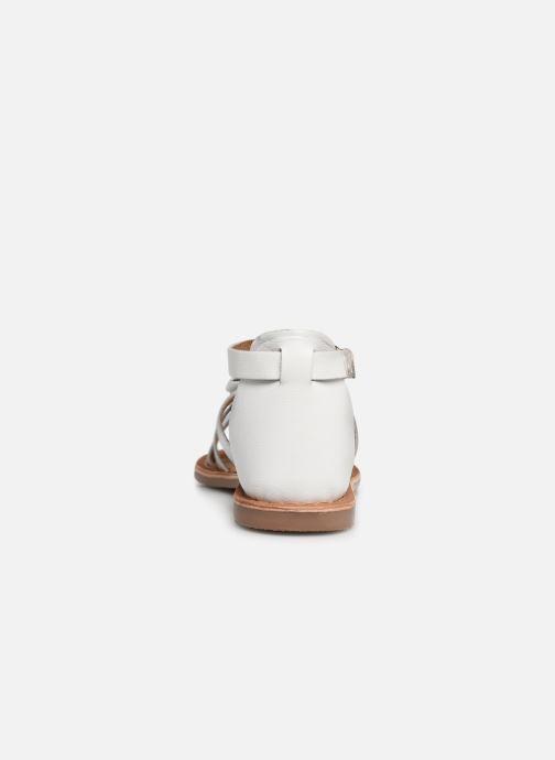 Sandales et nu-pieds I Love Shoes Kejoli Leather Blanc vue droite