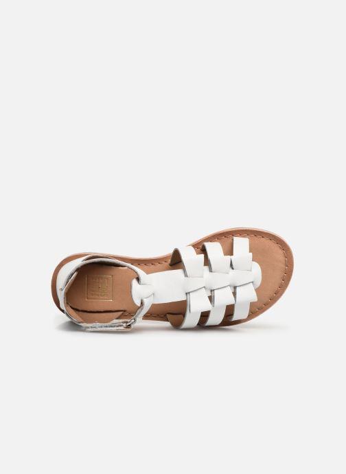 Sandales et nu-pieds I Love Shoes Kejoli Leather Blanc vue gauche