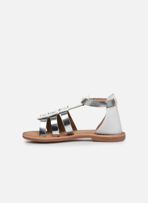 Sandalias I Love Shoes Kejoli Leather Blanco vista de frente