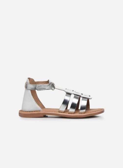Sandales et nu-pieds I Love Shoes Kejoli Leather Blanc vue derrière