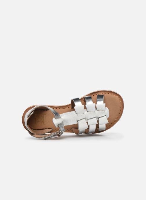 Sandalias I Love Shoes Kejoli Leather Blanco vista lateral izquierda