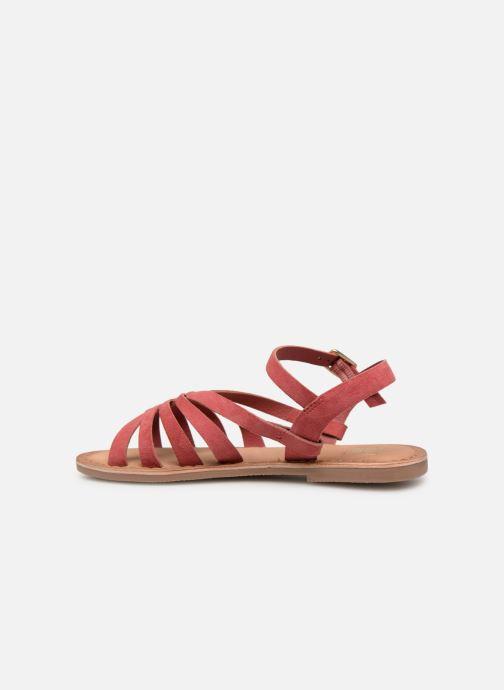 Sandales et nu-pieds I Love Shoes Kanala Leather Rose vue face