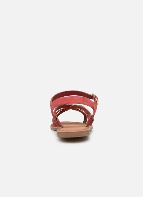 Sandales et nu-pieds I Love Shoes Kanala Leather Rose vue droite