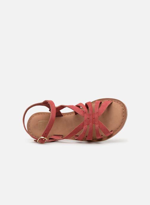 Sandalias I Love Shoes Kanala Leather Rosa vista lateral izquierda