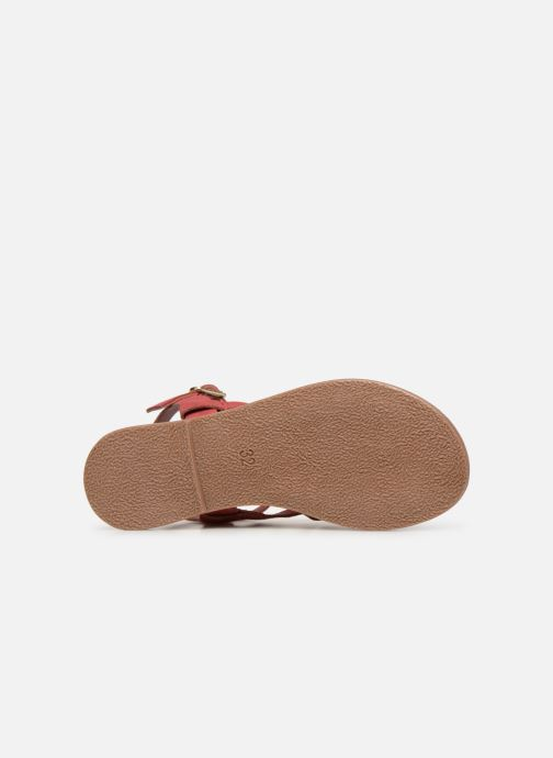 Sandales et nu-pieds I Love Shoes Kanala Leather Rose vue haut