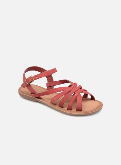 Sandales et nu-pieds I Love Shoes Kanala Leather Rose vue détail/paire