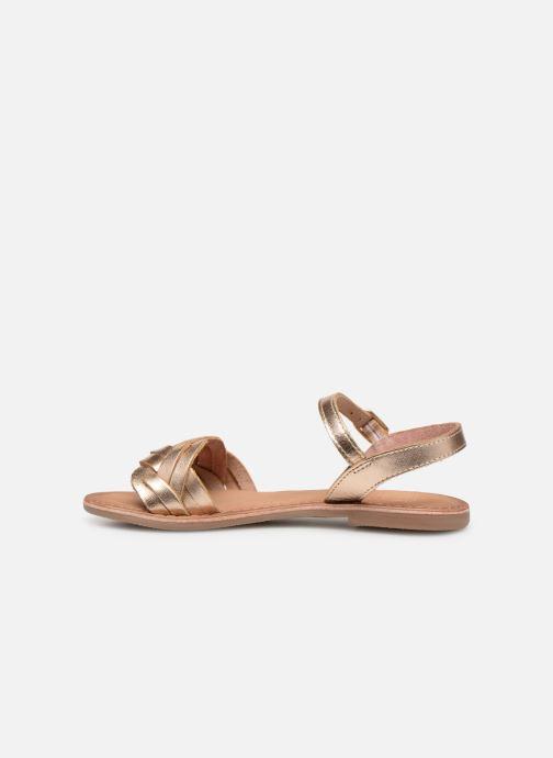 Sandalen I Love Shoes Kioui Leather Goud en brons voorkant