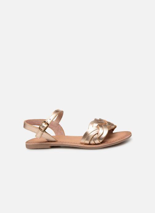 Sandales et nu-pieds I Love Shoes Kioui Leather Or et bronze vue derrière