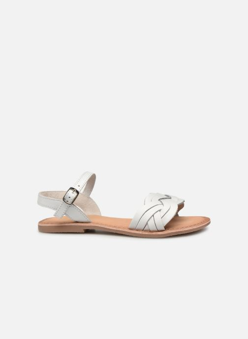 Sandals I Love Shoes Kioui Leather White back view
