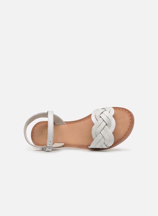 Sandals I Love Shoes Kioui Leather White view from the left