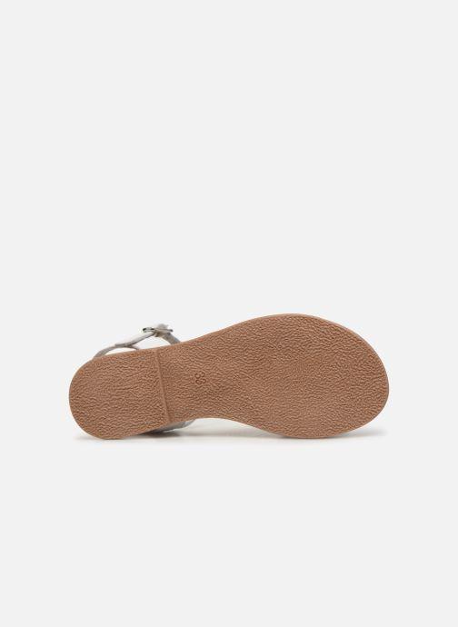 Sandales et nu-pieds I Love Shoes Kioui Leather Blanc vue haut