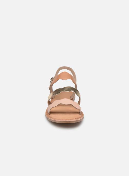 Sandales et nu-pieds I Love Shoes Kelya Leather Marron vue portées chaussures