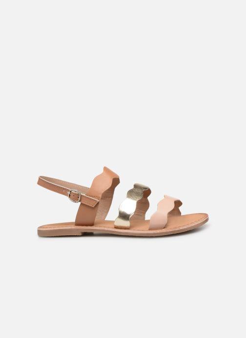 Sandales et nu-pieds I Love Shoes Kelya Leather Marron vue derrière