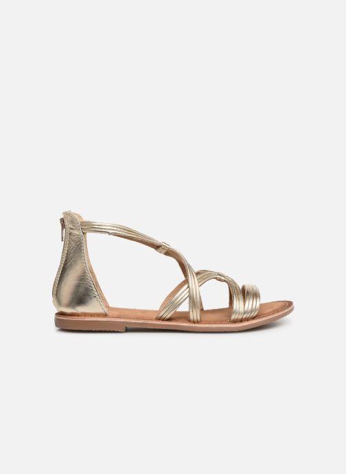 Sandales et nu-pieds I Love Shoes Kevestale Kids Leather Or et bronze vue derrière