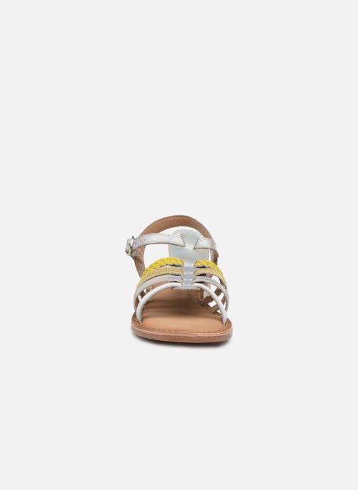 Sandali e scarpe aperte I Love Shoes Kimiko Leather Bianco modello indossato
