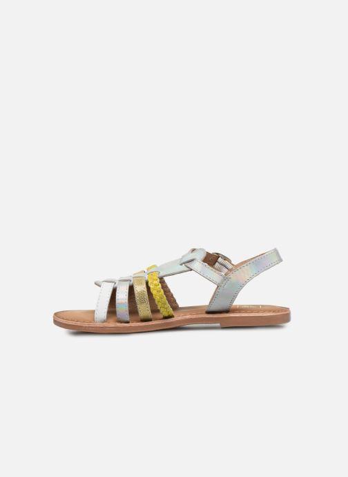 Sandalias I Love Shoes Kimiko Leather Blanco vista de frente