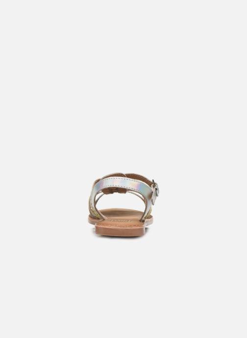 Sandali e scarpe aperte I Love Shoes Kimiko Leather Bianco immagine destra