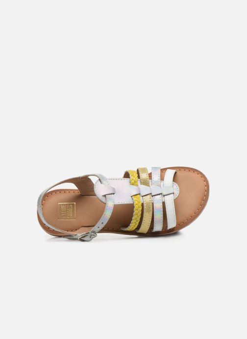 Sandali e scarpe aperte I Love Shoes Kimiko Leather Bianco immagine sinistra