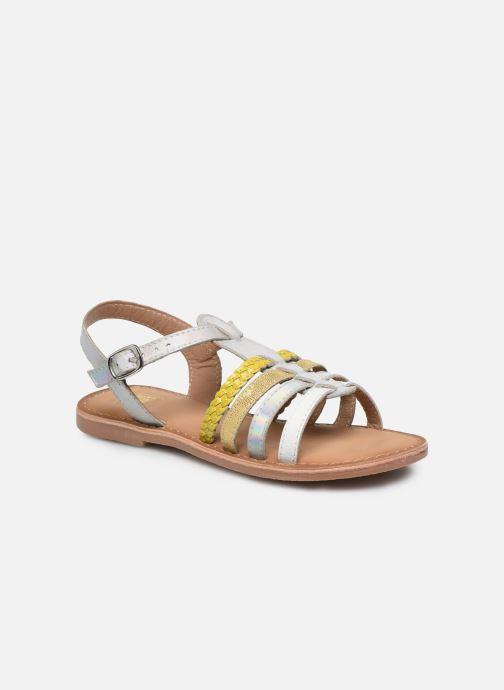 Sandalias I Love Shoes Kimiko Leather Blanco vista de detalle / par