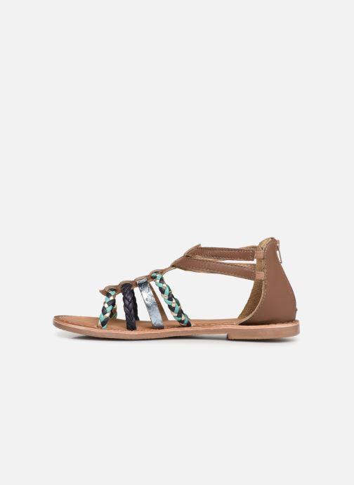 Sandalias I Love Shoes Ketina Leather Marrón vista de frente