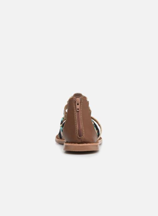 Sandalias I Love Shoes Ketina Leather Marrón vista lateral derecha
