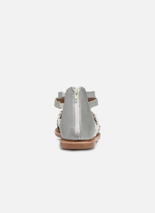 Sandales et nu-pieds I Love Shoes Ketina Leather K Argent vue droite