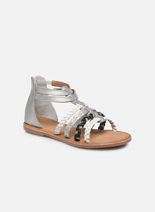 Sandalias I Love Shoes Ketina Leather K Plateado vista de detalle / par