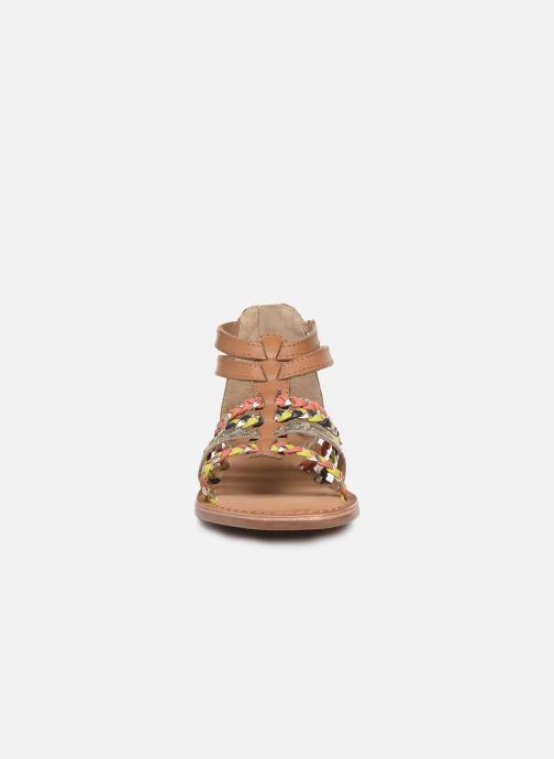 Sandales et nu-pieds I Love Shoes Ketina Leather K Marron vue portées chaussures