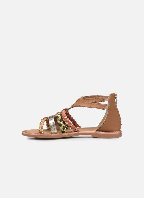 Sandales et nu-pieds I Love Shoes Ketina Leather K Marron vue face