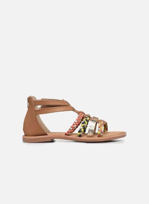 Sandales et nu-pieds I Love Shoes Ketina Leather K Marron vue derrière