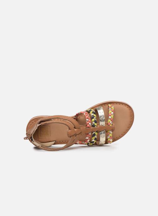 Sandales et nu-pieds I Love Shoes Ketina Leather K Marron vue gauche