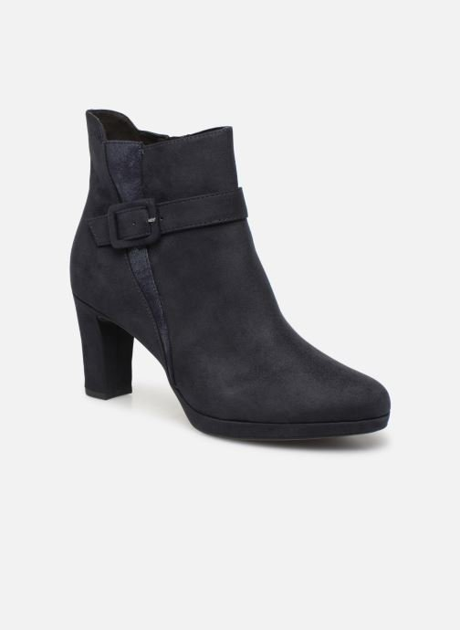 Boots en enkellaarsjes Tamaris Chiara Blauw detail