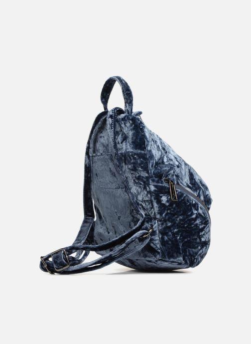 Mochilas Rebecca Minkoff Medium Julian Backpack Azul vista lateral derecha
