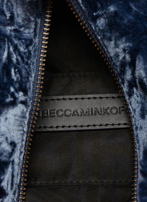 Mochilas Rebecca Minkoff Medium Julian Backpack Azul vistra trasera