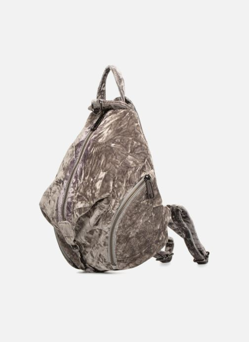 Zaini Rebecca Minkoff Medium Julian Backpack Grigio modello indossato
