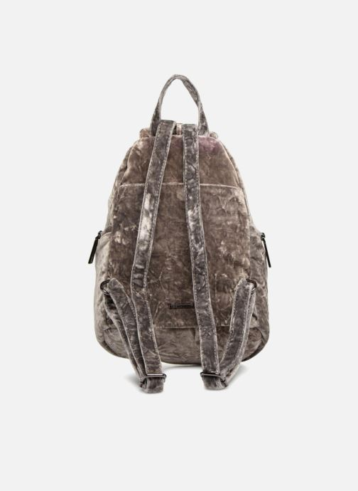 Mochilas Rebecca Minkoff Medium Julian Backpack Gris vista de frente